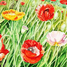 Irina Sztukowski - Bunch Of Poppies I