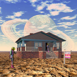 Walter Oliver Neal - House Hunting On An Alien Planet