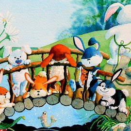 Hanne Lore Koehler - Bunnies On A Bridge