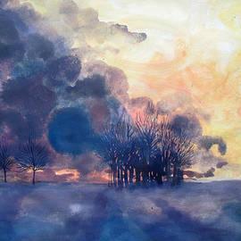 James Huntley - Burning Sky
