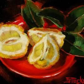Margaret Stockdale - Bush Lemon Sliced