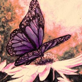 Hazel Holland - Butterfly at Sunset
