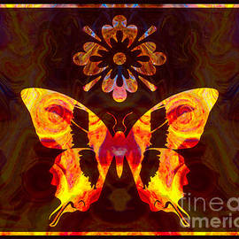Omaste Witkowski - Butterfly By Design Abstract Symbols Artwork