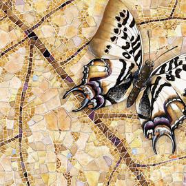 Elena Yakubovich - Butterfly mosaic 01 Elena Yakubovich