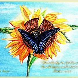 Kimberlee  Baxter - Butterfly Sunday A Day to Rejoice In