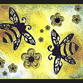 Danielle  Parent - Buzy Bees And Daisies
