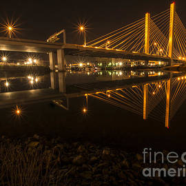 Rachel Cash - Cable Bridge over Thea Foss