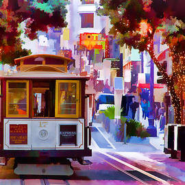 Bill Gallagher - Cable Car at the Powell Street Turnaround