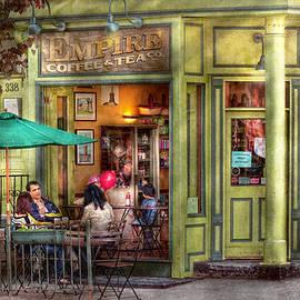 Mike Savad - Cafe - Hoboken NJ - Empire Coffee and Tea