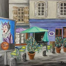 Irving Starr - Cafe In South France
