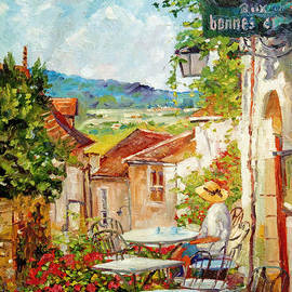 David Lloyd Glover - Cafe Provence Morning