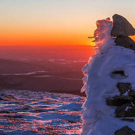 Christopher Whiton - Cairn Creatures on Mt. Moosilauke