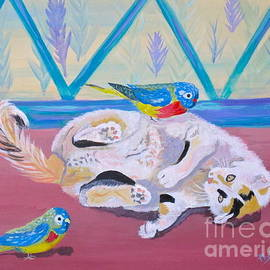 Phyllis Kaltenbach - Calico and Friends