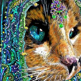 Michele  Avanti - Calico Indian Bride Cats In Hats
