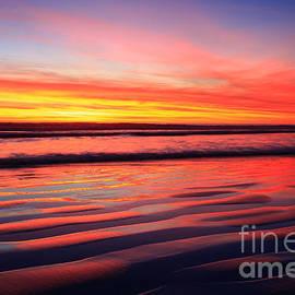 John Tsumas - California Sunset Ripples