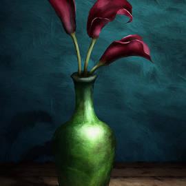 April Moen - Calla Lilies I