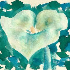 Frank Bright - Calla Lily Watercolor