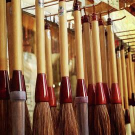 Joan Carroll - Calligraphy Brushes Seoul