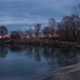 Georgia Mizuleva - Calm Pink Morning - Lake Ontario in Toronto