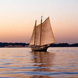 James Oppenheim - Calm Sailing on the Chesapeake Bay