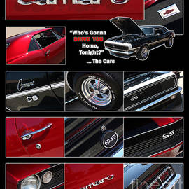 Gary Gingrich Galleries - Camaro-Drive - Poster