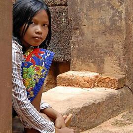 Harold Bonacquist - Cambodian Girl