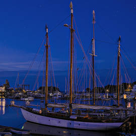 Marty Saccone - Camden Harbor Maine at 4AM