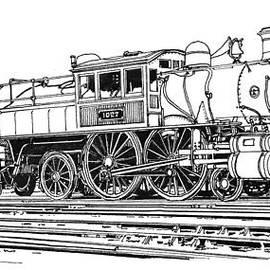 Ira Shander - Camelback Engine Number 1027