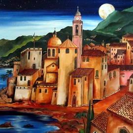 Roberto Gagliardi - Camogli under the moon