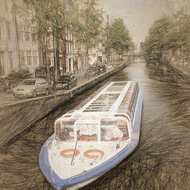 Jerry Deutsch - Canal Barge