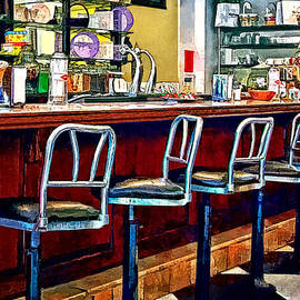 Susan Savad - Candy Store With Soda Fountain
