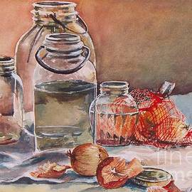 Joy Nichols - Canning Jars and Onions