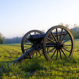Bill Cannon - Cannons in a Field at Gettysburg