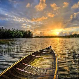 Debra and Dave Vanderlaan - Canoeing at Sunrise