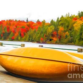 Les Palenik - Canoes at Algonquin Park - V2