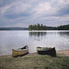 Richard Andrews - Canoes - Canisbay Lake