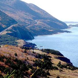George Cousins - Cap Rouge on the Cabot Trail