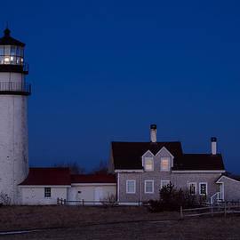Michael Blanchette - Cape Cod Moonset