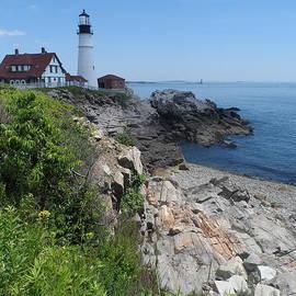 James Potts - Cape Elizabeth Portland Head Lighthouse