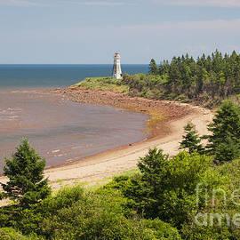 Elena Elisseeva - Cape Jourimain lighthouse in New Brunswick