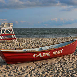 Allen Beatty - Cape May N J Rescue Boat