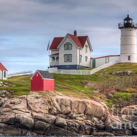 Clarence Holmes - Cape Neddick Nubble Lighthouse I