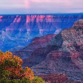 Silvio Ligutti - Cape Royal Rainbow over the South Rim - Grand Canyon National Park Arizona