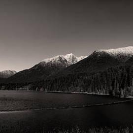 Monte Arnold - Capilano Dam in Black and White