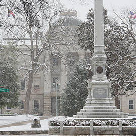Dennis Ludlow - Capital Building in the snow