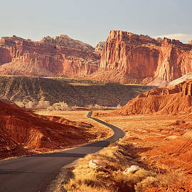 Carolyn Rauh - Capitol Reef National Park Landscape