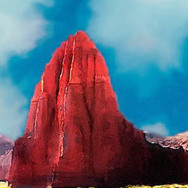 Bob Johnston - Capitol Reef Temple of the Sun Painting ForSale