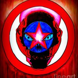Justin Moore - Captain America and Red Skull Rust