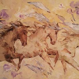 Violeta Oprea - Caravan of horses