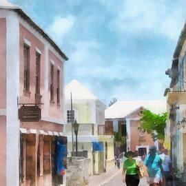 Susan Savad - Caribbean - A Street in St. George